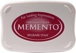 407297 Memento Full Size Dye Inkpad Rhubarb