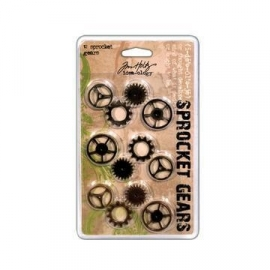 TH92691 Tim Holtz Metalen Tandwielen 12 st.