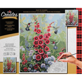 "558012 Paint By Number Kit Joy Of Summer 16""X20"""