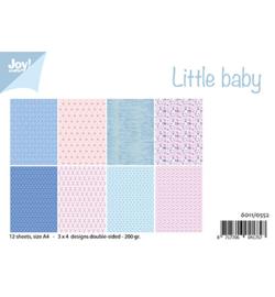 6011/0552 Little Baby Papier Set A4