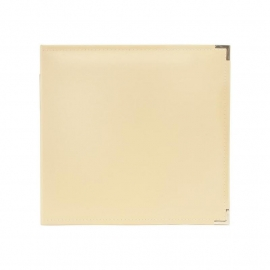 "517012 We R Classic Leather 3-Ring Album Vanilla  12""X12"""