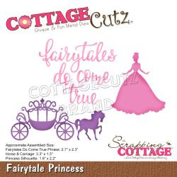 "CCE601 CottageCutz Dies Fairytale Princess 1.5"" To 3.3"""