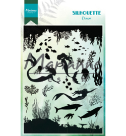 CS1026 Clear stamp Silhouette Ocean