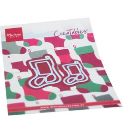 LR0733 Marianne Design Creatables  Christmas Stockings