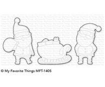 MFT-1405 My Favorite Things Sassy Santa Die-Namics