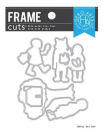 660599 Hero Arts Frame Cut Dies Little Red Riding Hood