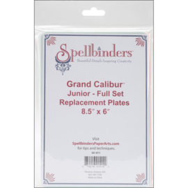 GC011 Spellbinders Grand Calibur Replacement Plate Set