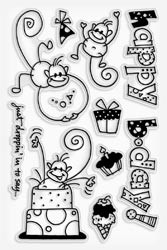 460572 Stampendous Clear Stamps Changito B-Day
