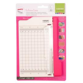 2137-056 Vaessen Creative Mini guillotine papiersnijder 10cm