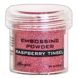 EPJ64572 Ranger Embossing Powder  Raspberry Tinsel