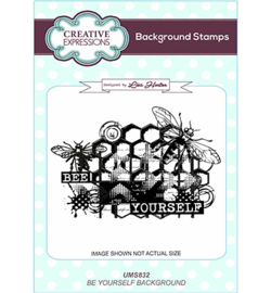 UMS832 Creative Expressions Background Bee Yourself
