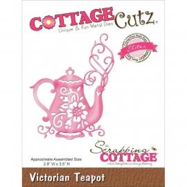 """423193 CottageCutz Elites Die Victorian Teapot, 2.8""""X3.5"""""""