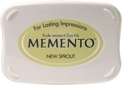 407310 Memento Full Size Dye Inkpad New Sprout