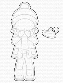 MFT1869 My Favorite Things Winter Kisses Die-Namic