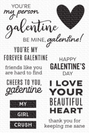 CS-538 My Favorite Things My Galentine Clear Stamps
