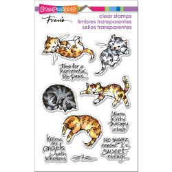 560481 Stampendous Perfectly Clear Stamps Kitty Therapy