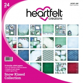 420044 Heartfelt Creations Double-Sided Paper Pad Snow Kissed