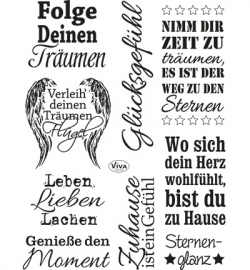 4003.143.00  Viva Clear Stamps Spruche II