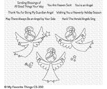 CS-350 My Favorite Things Little Angels Clear Stamps