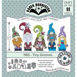 KBR1165 Karen Burniston Dies Tiny Gnomes- Stamping Die Set