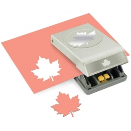 54-30157 Slim Paper Punch Large Maple Leaf
