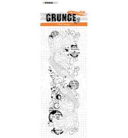 SL-GR-STAMP41 StudioLight Clear Stamp Fish Grunge Collection nr.41