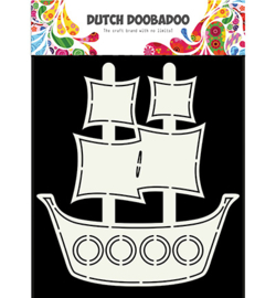 470.713.685 Dutch Card Art Pirate Ship
