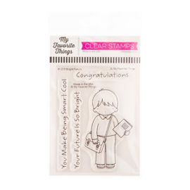 """PI319 My Favorite Things Pure Innocence Stamps Bright Future 3""""X4"""""""