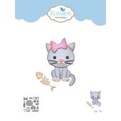 EC1666 Elizabeth Craft Metal Die Cat