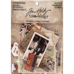 TH93564 Idea-Ology Ephemera Pack  Snippets Tiny Die-Cuts 111/Pkg