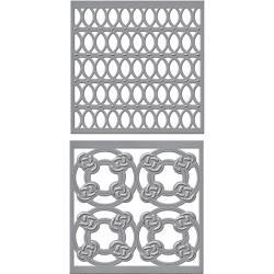 S4766 Spellbinders Shapeabilities Dies By Stacey Caron Tiled Spheres
