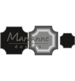 CR1438 Marianne Design Craftables Basic square