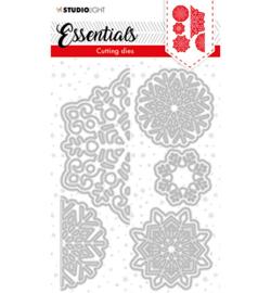 SL-ES-CD64 - SL Cutting Die Christmas Large snowflakes Essentials nr.64