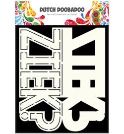 470.713.641 Dutch DooBaDoo Card Art Text