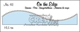 115634/1842 Crealies On the edge die stans no 42 CLOTE42 14,5 cm