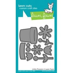 LF1619 Lawn Cuts Custom Craft Die Little Flowers