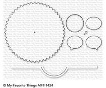 MFT-1424 My Favorite Things Peek-a-Boo Wheel Die-Namics