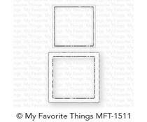 MFT-1511 My Favorite Things Mini Square Shaker Window & Frame Die-namics