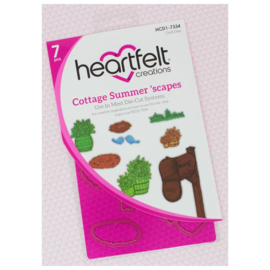 HCD17334 Heartfelt Creations Cut & Emboss Dies Cottage Summer 'scapes
