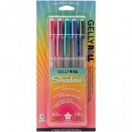328083 Sakura Gelly Roll Gold Shadow Bold Point Pens