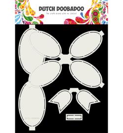 470.713.806 Dutch DooBaDoo Card Art Bow 4pc
