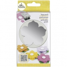 54-30199 Slim Paper Punch Large Petunia