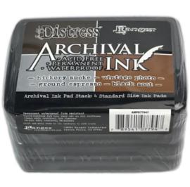MPK77947 Tim Holtz Distress Archival Ink Pad Stack Basics