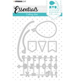 STENCILSL358 Studio Light Cutting Die Essentials nr.358