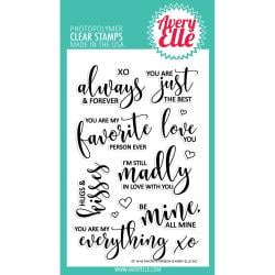 291539 Avery Elle Clear Stamp Set Favorite Person