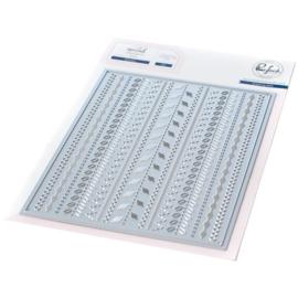 645985 PF040ES Pinkfresh Studio Essentials Die Set Stitches