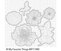 MFT-1482 My Favorite Things Painted Petals Die-Namics