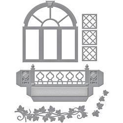 S5266 Spellbinders Shapeabilities Dies Decorative Flower Box