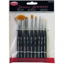 135238 Donna Dewberry Mini Brush Set 9pc