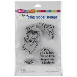 252109 Stampendous Cling Stamp Heavenly Kiddo